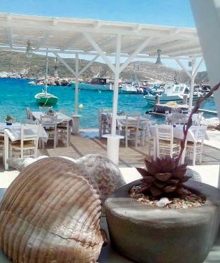 Image of Achladi restaurant in Syros, Greece.