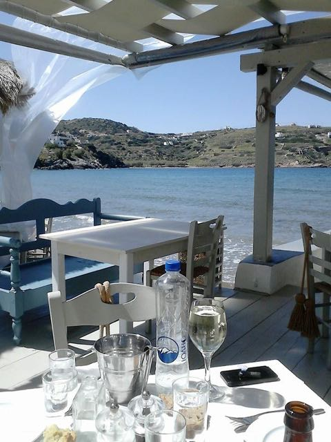 Image of Allou Yiallou restaurant in Syros, Greece.
